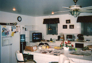 Before the R.W> Bianco Construction remodel the Kelly kitchen was dated